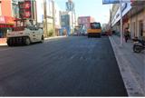 吴中商城道路路面工程
